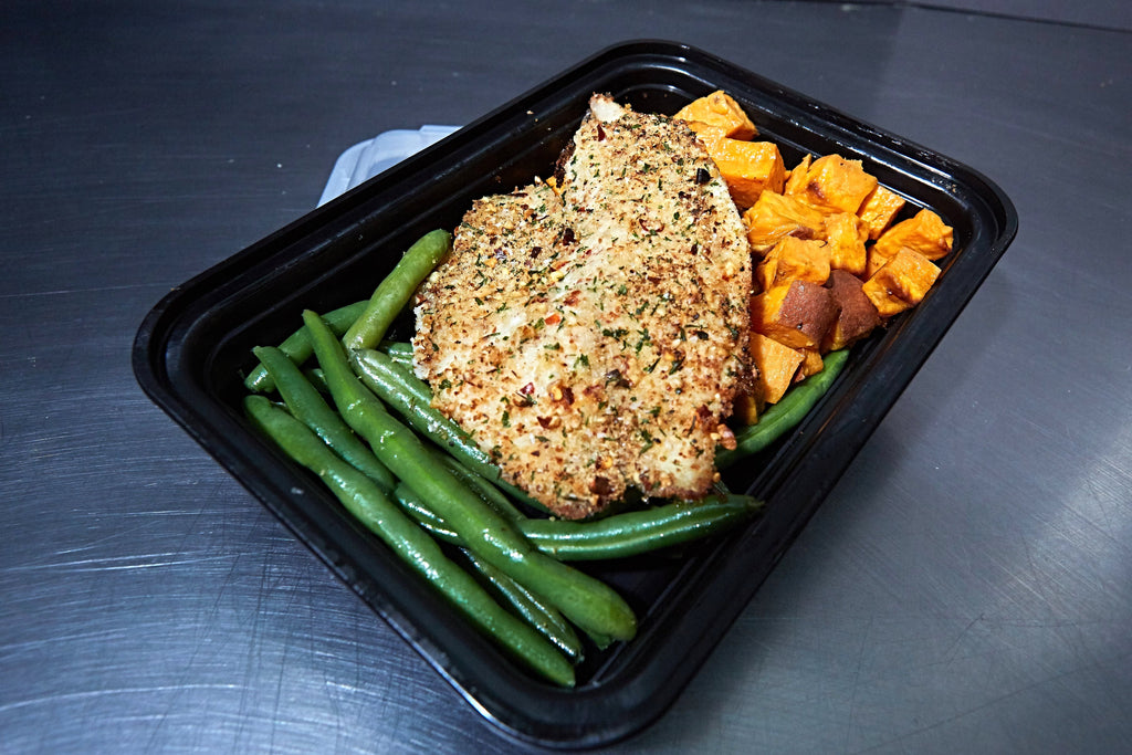 Almond Crusted Tilapia - Meal Dealers