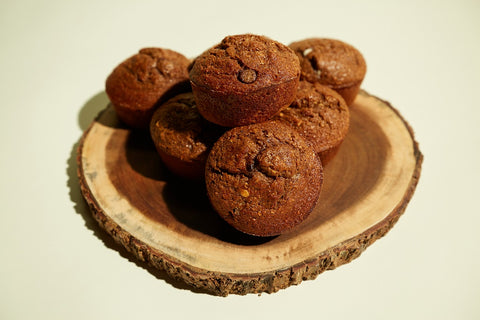 Chocolate White Chocolate Chip Protein Muffin - Meal Dealers