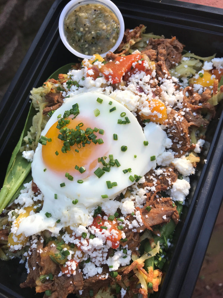 Pulled Steak Breakfast Bowl - Meal Dealers