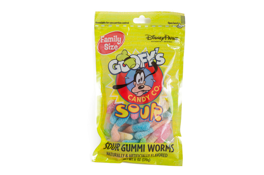Disney Goofy's Candy Co. - Sour Gummi Worms - ThemePark Warehouse