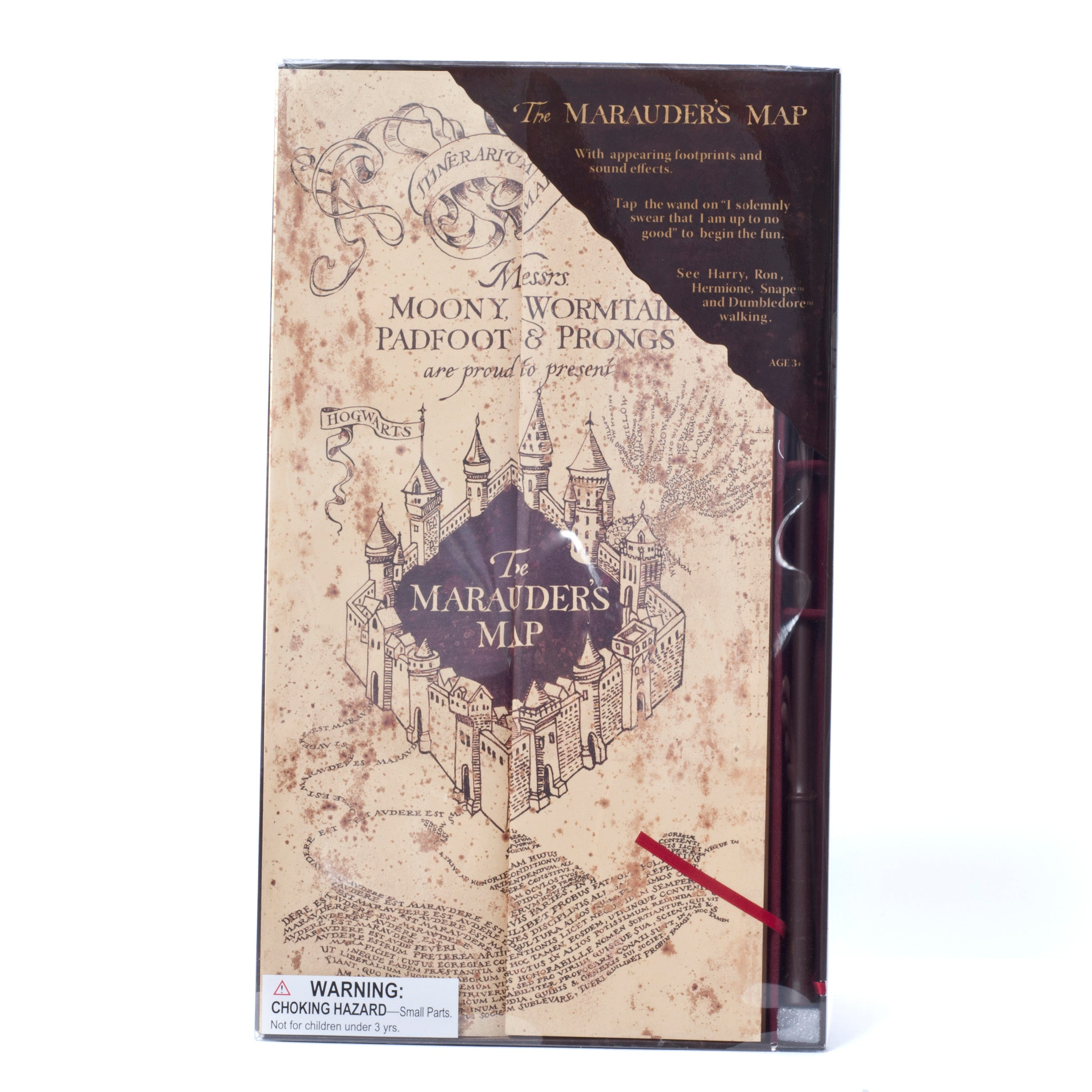 Wizarding World of Harry Potter Electronic Marauders Map with Moving ...
