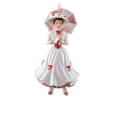 Disney Parks Mary Poppins Holiday Christmas Figural Ornament - ThemePark Warehouse