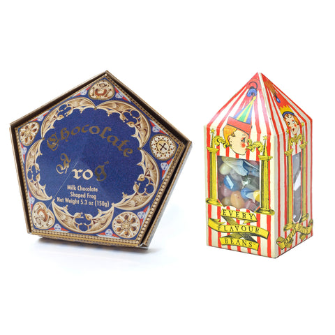 Wizarding World of Harry Potter Chocolate Frog & Bertie Botts Candy Set - ThemePark Warehouse