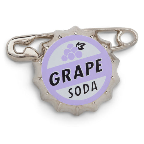 Disney Parks Russell's from Pixar's Up Grape Soda Bottlecap Pin - ThemePark Warehouse