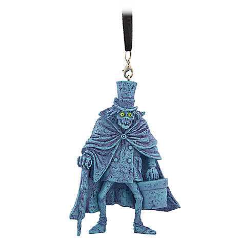 Disney Parks The Haunted Mansion Hatbox Ghost Figure Holiday Christmas Ornament - ThemePark Warehouse