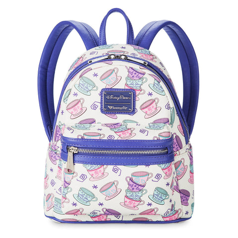 Disney Parks Mad Tea Party Mini Backpack by Loungefly - ThemePark Warehouse