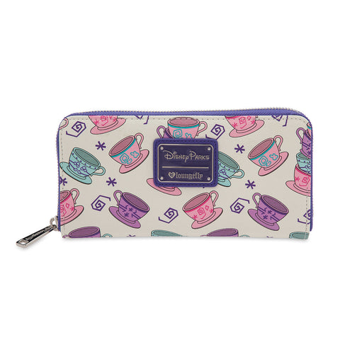 Disney Parks Mad Tea Party Wallet by Loungefly - ThemePark Warehouse
