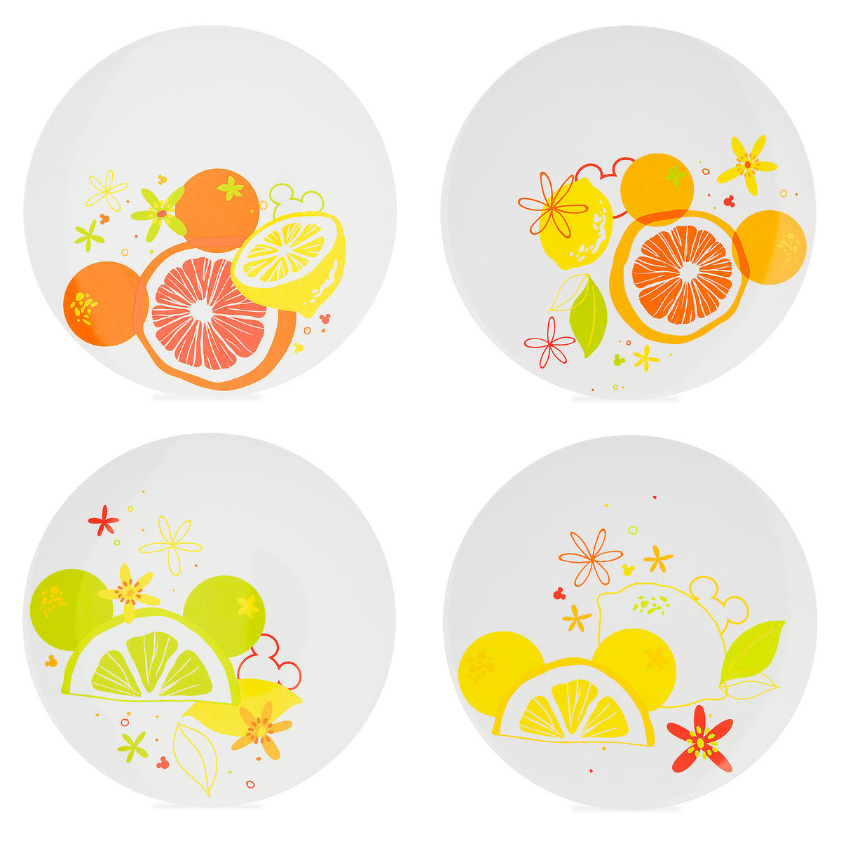 Disney Parks Mickey Mouse Citrus Plate Set - ThemePark Warehouse  sc 1 st  Themepark Warehouse & Disney Parks Mickey Mouse Citrus Plate Set u2013 Themepark Warehouse