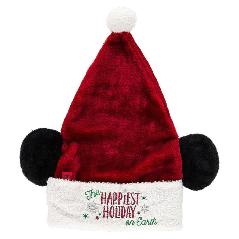 Disney Parks Santa Mickey Mouse Ear Hat for Adults - ThemePark Warehouse