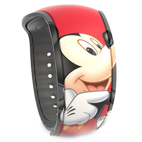 Disney Parks Mickey Mouse Signature MagicBand 2 - ThemePark Warehouse