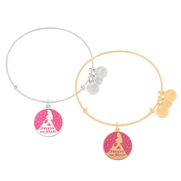 Disney Parks Aurora Sleeping Beauty Bangle Bracelet by Alex & Ani - ThemePark Warehouse