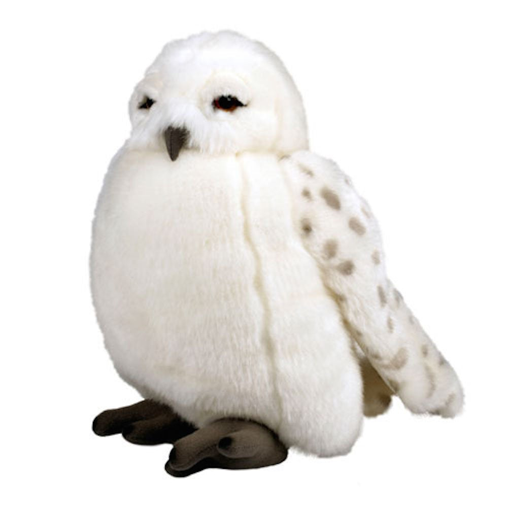 wizarding world of harry potter hedwig owl 11 plush puppet with