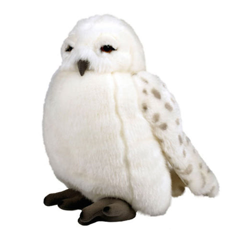 "Wizarding World of Harry Potter Hedwig Owl 11"" Plush Puppet with Sound - ThemePark Warehouse"