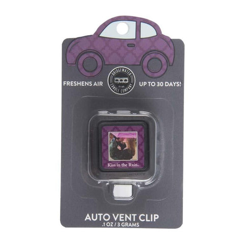 AUTO VENT CLIP KISS IN THE RAIN