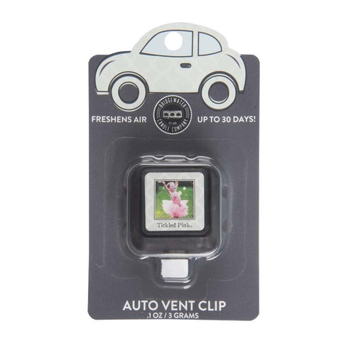 AUTO VENT CLIP TICKLED PINK
