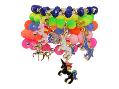 Erimish Girls Unicorn Bracelets