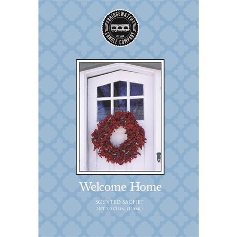 SCENTED SACHET WELCOME HOME