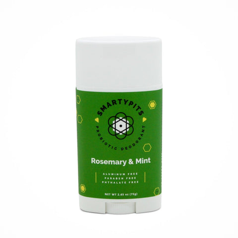 Probiotic Deodorant: Rosemary Mint (Original Formula)
