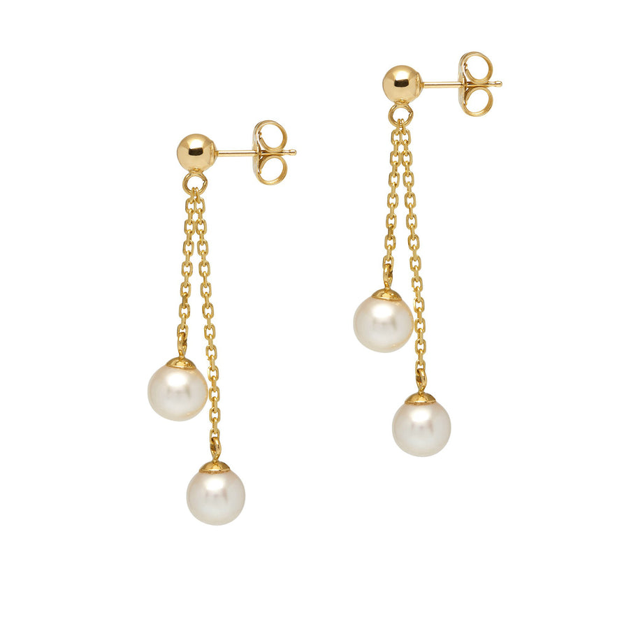 La PERLA D'ORO Earrings - Gold