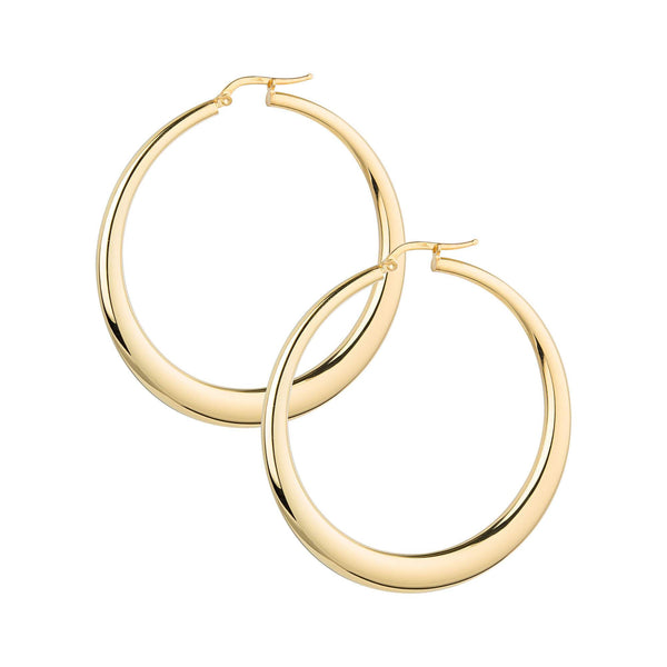 La PORTOFINO Gold Medio Hoops