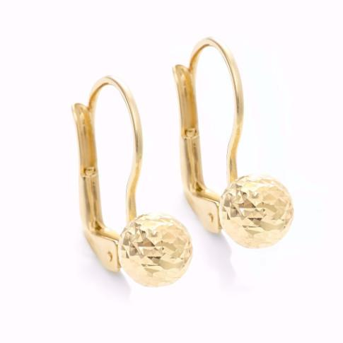 La CLASICA 18ct Gold Drop Earrings