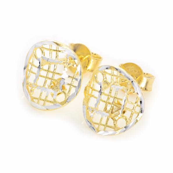La FAENZA 'Spun Sugar' earrings