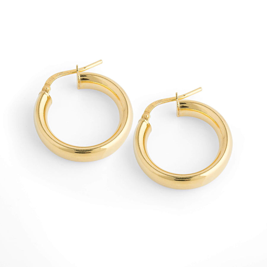 La SHINY CUFF Hoops - SMALLEST - Gold