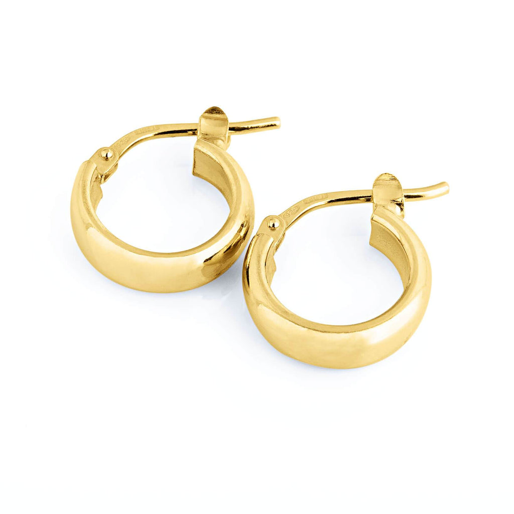 La ELBA Huggies Gold - Georgiana Scott Jewellery
