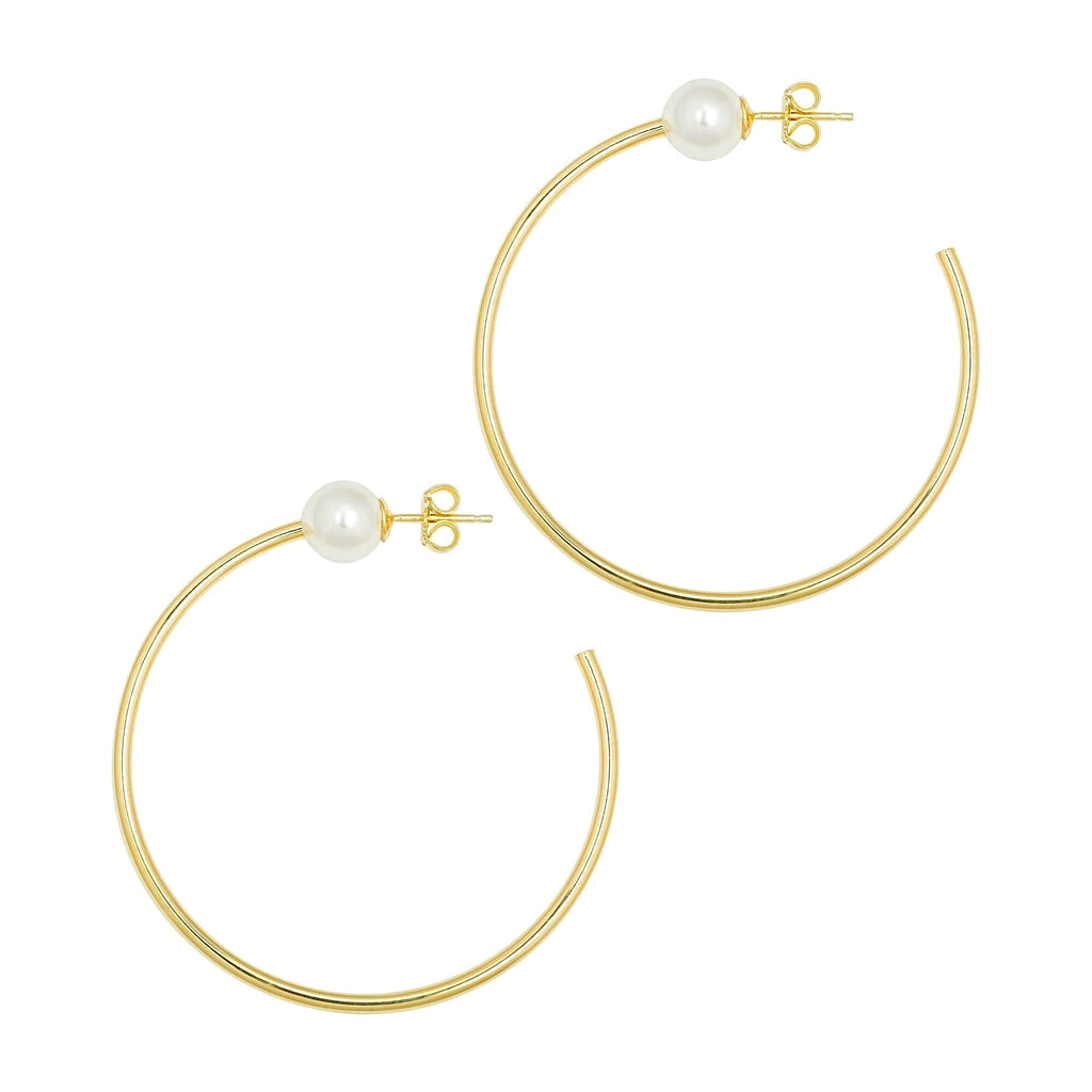 La PERLA Hoops - Georgiana Scott Jewellery