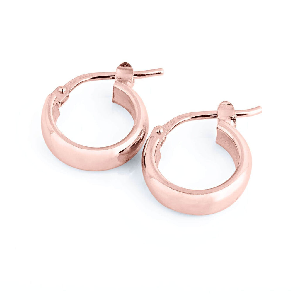 La ELBA Huggies Rose Gold - Georgiana Scott Jewellery
