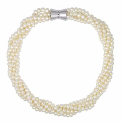 Freshwater pearl necklace, real pearl necklace, georgiana scott, london, boutique jewellery