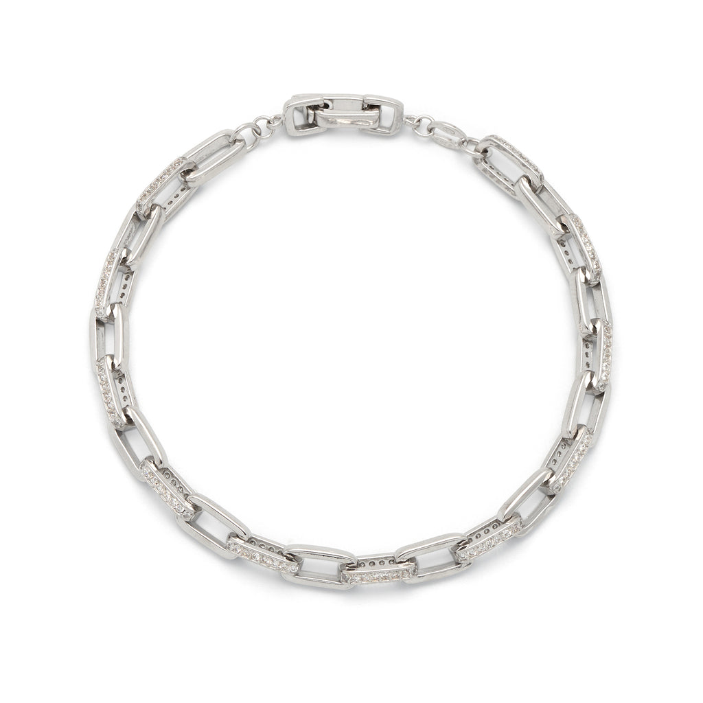 La CATENA CZ Bracelet - Georgiana Scott Jewellery