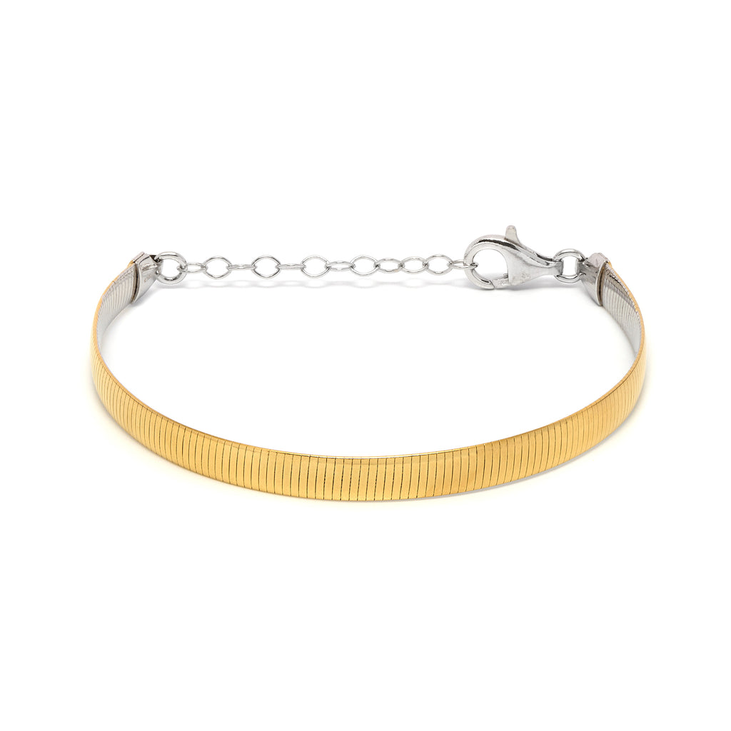 La REVERSO Bracelet (Gold & Silver) - Georgiana Scott Jewellery
