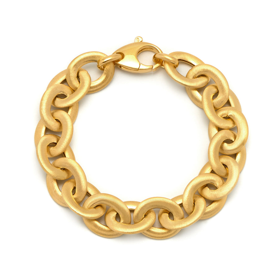 La SATINA LUXE LINKS Bracelet Gold