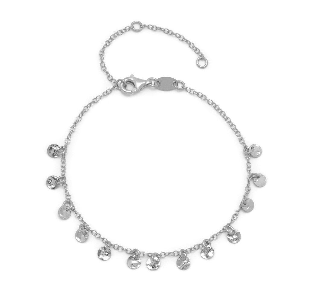 La SQUARE CHARM Bracelet - Silver - Georgiana Scott Jewellery