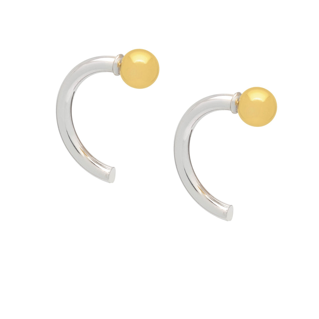 La 2 TONO MEZZO Hoop - Georgiana Scott Jewellery