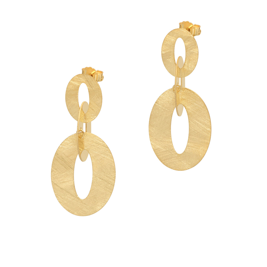 La SATINA LINK - Gold - Georgiana Scott Jewellery