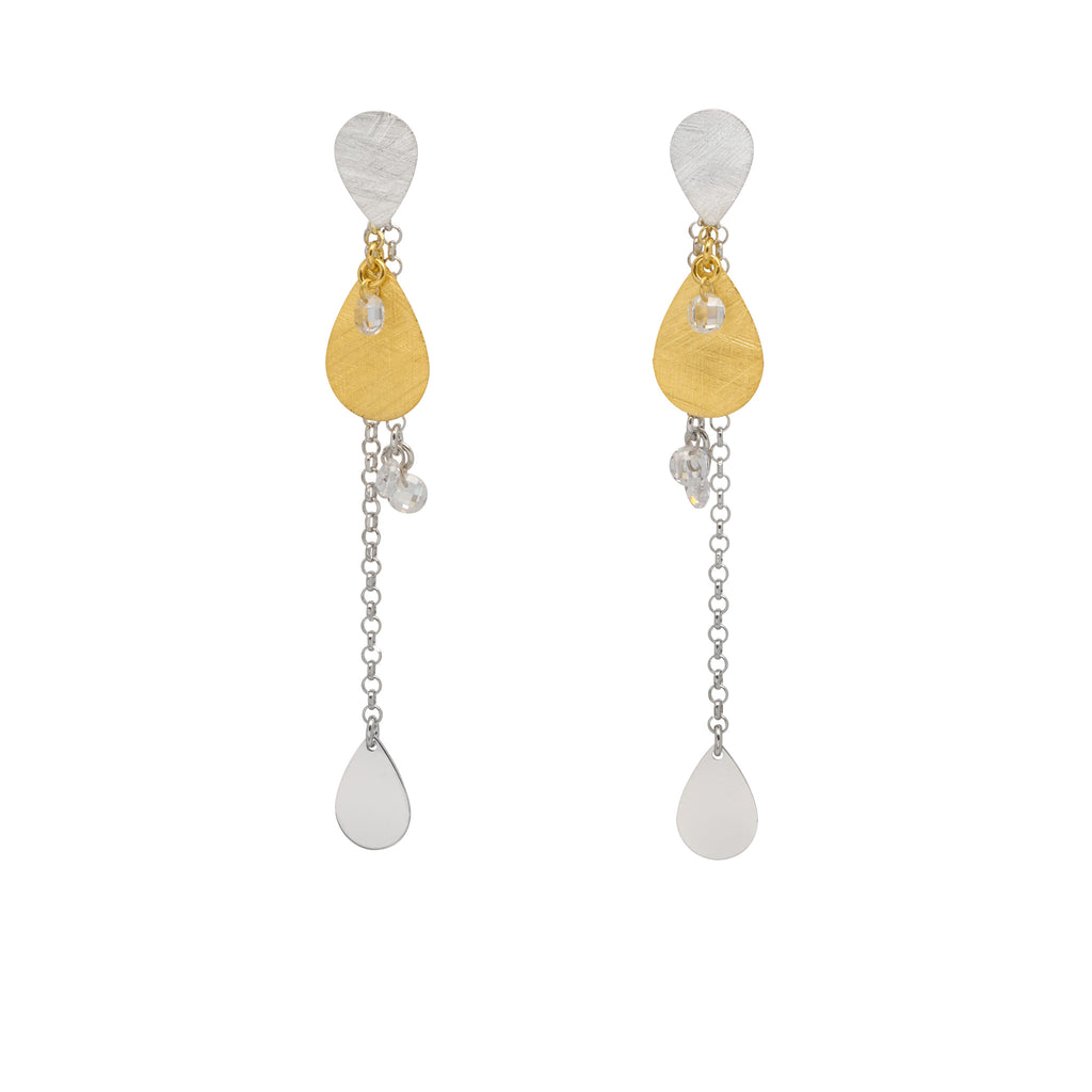 La SATINA CRYSTALS - Gold & Silver - Georgiana Scott Jewellery