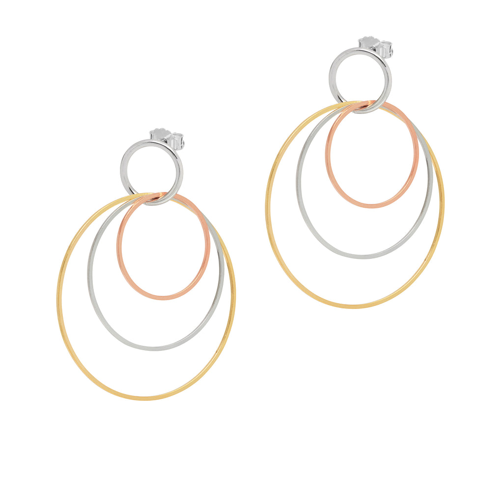 La TRICOLORI TRIO - Earrings - Georgiana Scott Jewellery