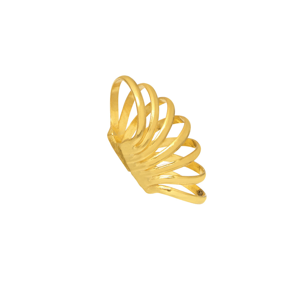 La WINTER CUFF - Gold (Singles) - Georgiana Scott Jewellery