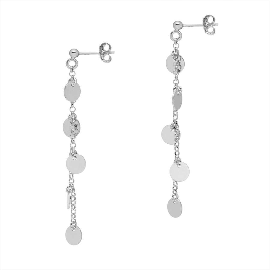 La 5 DISCO Drop Earrings - Silver