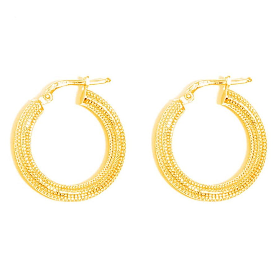 La MILANO hoops - gold