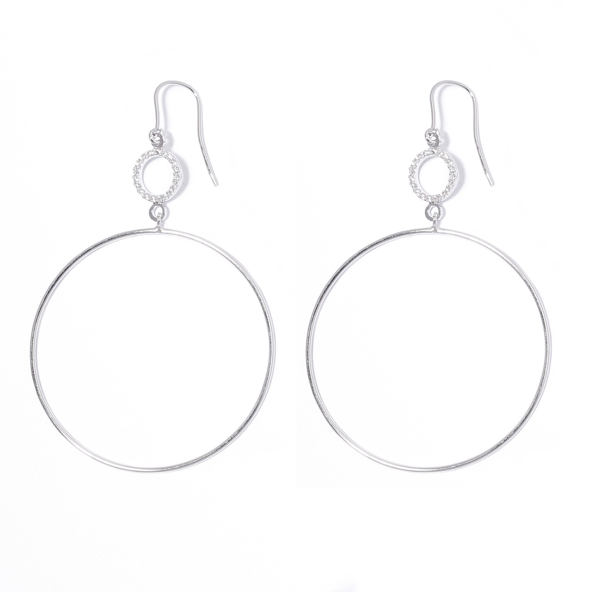 La SPARKLY LOOP Earring