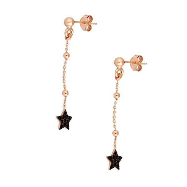 La STELLA 'Star' - Rosegold earrings