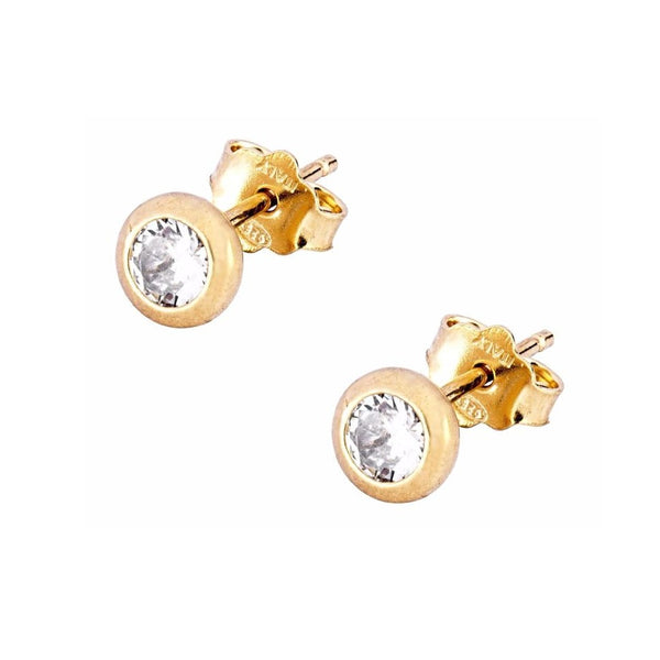 La LUXE CZ Stud Earrings