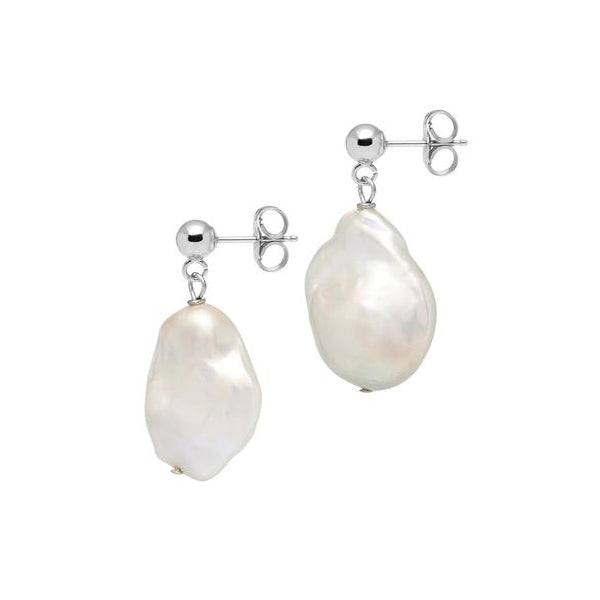 La BAROQUE Drop Earrings - Silver