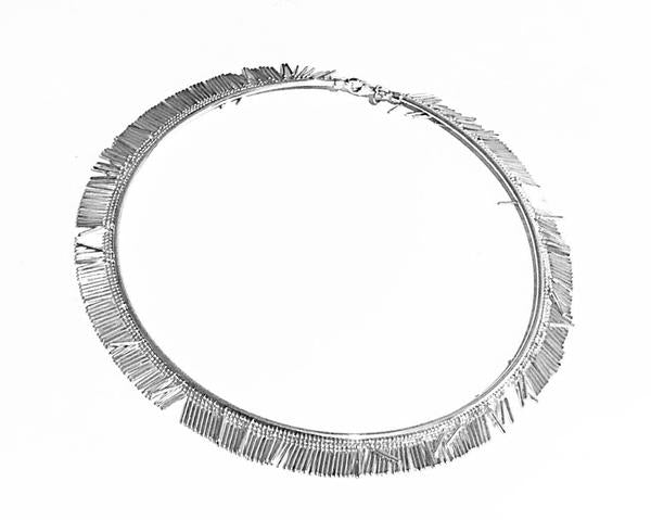 La HULA Choker - Silver - SALE - Georgiana Scott Jewellery