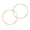 La CHICA LATINA Hoops Extra Large Gold - Georgiana Scott Jewellery