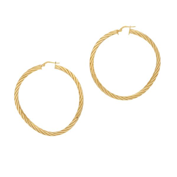 La TWIST WAVES Gold - Georgiana Scott Jewellery