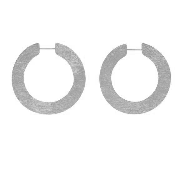 LA SATINA SLICE Hoops